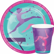 Gymnastics Party Party Supplies