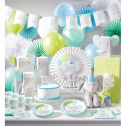 Enchanting Elephants Boy Party Supplies