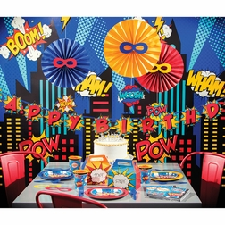 Superhero Party Party Supplies