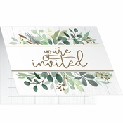 Eucalyptus Invitations 48 ct