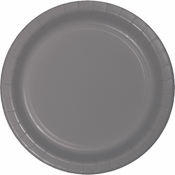 Glamour Gray Banquet Plates 240 ct
