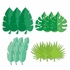 Jungle Leaf Cutouts 144 ct