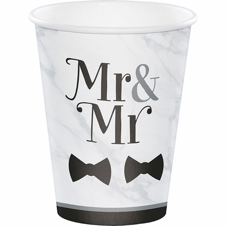 Mr. and Mr. Wedding Cups 96 ct