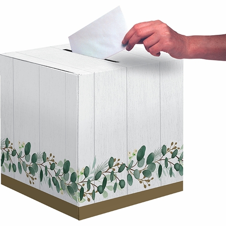 Eucalyptus Card Boxes 6 ct