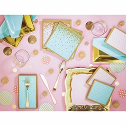 Gilded Geo Party Supplies
