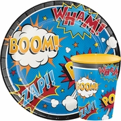 Superhero Slogans Party Supplies