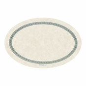 White Regal Oval Wastebasket Liner sold in quantities of 2000 per case