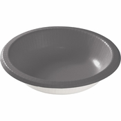 Glamour Gray Paper Bowls 200 ct