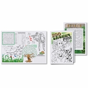 "7"" x 10"" Kids Activity Booklet 500 ct"