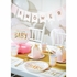 Pink and Gold Celebration Its a Girl Luncheon Napkins 192 ct