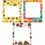 Show Your Emojions Photo Frames 18 ct