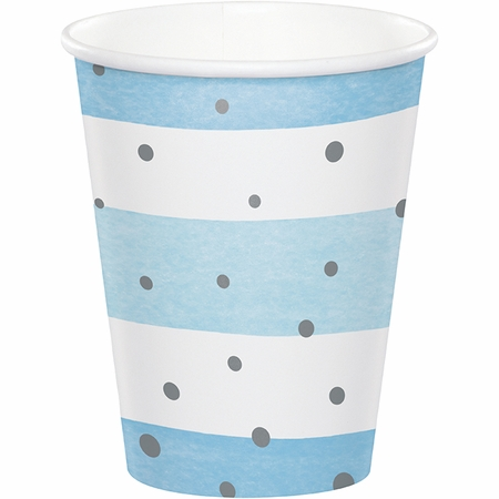 Blue and Silver Celebration Cups 96 ct