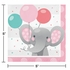 Enchanting Elephants Girl Beverage Napkins 192 ct