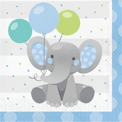 Enchanting Elephants Boy Luncheon Napkins 192 ct