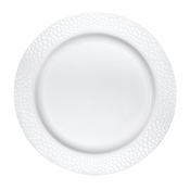 Pearl Pebble Plastic Dinner Plates 120 ct