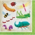 Birthday Bugs Beverage Napkins 192 ct