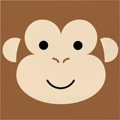 Monkey Luncheon Napkins 192 ct