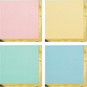 Pastel Celebrations Assorted Beverage Napkins 192 ct