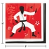 Karate Party Beverage Napkins 192 ct