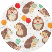 Hedgehog Party Dessert Plates 96 ct