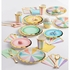 Pastel Celebrations Scalloped Beverage Napkins 192 ct