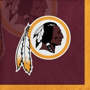 Washington Redskins Beverage Napkins
