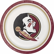 Florida State University Dinner Plates 96 ct