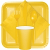School Bus Yellow Party Supplies