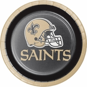 New Orleans Saints Dessert Plates