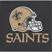 New Orleans Saints Luncheon Napkins
