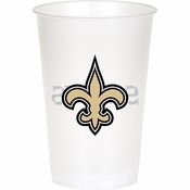 New Orleans Saints 20 oz Plastic Cups