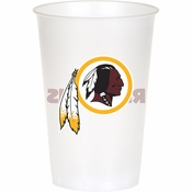 Washington Redskins 20 oz Plastic Cups