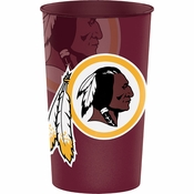 Washington Redskins 22 oz Plastic Stadium Cups