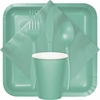 Fresh Mint Green Party Supplies