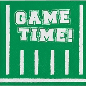 Game Time Beverage Napkins 192 ct