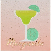 Happy Hour Margarita Beverage Napkins by Elise 288 ct