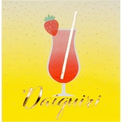Happy Hour Daiquiri Beverage Napkins by Elise 288 ct