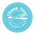 "3"" Thank You Tamper Evident Stickers 500 ct"