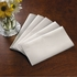FashnPoint White Dinner Napkins 1/8 Fold in quantities of 100 / pkg, 8 pkgs / case