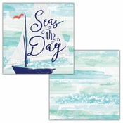Smooth Sailing Beverage Napkins by Elise 288 ct