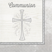 Divinity Silver Communion Luncheon Napkins 192 ct