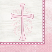 Divinity Pink Luncheon Napkins 192 ct