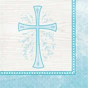 Divinity Blue Luncheon Napkins 192 ct