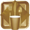Glittering Gold Party Supplies