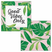 Palm Deco Beverage Napkins by Elise 288 ct