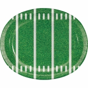 Game Time Oval Plates 96 ct