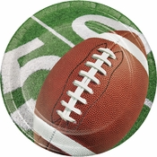 Football Party Dessert Plates 96 ct