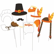 Thanksgiving Photo Booth Props 60 ct
