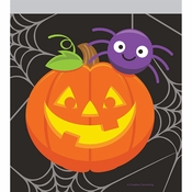 Pumpkin and Spider Favor Bags 120 ct