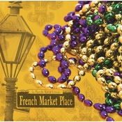 Masks of Mardi Gras Beverage Napkins 192 ct